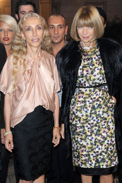 Anna Wintour and Franca Sozzani - Milan Fashion Week Womenswear Spring/Summer 2011