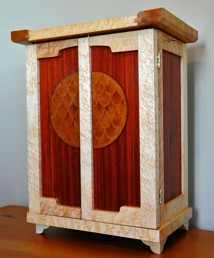 Custom Made Arts And Crafts Jewelry Box