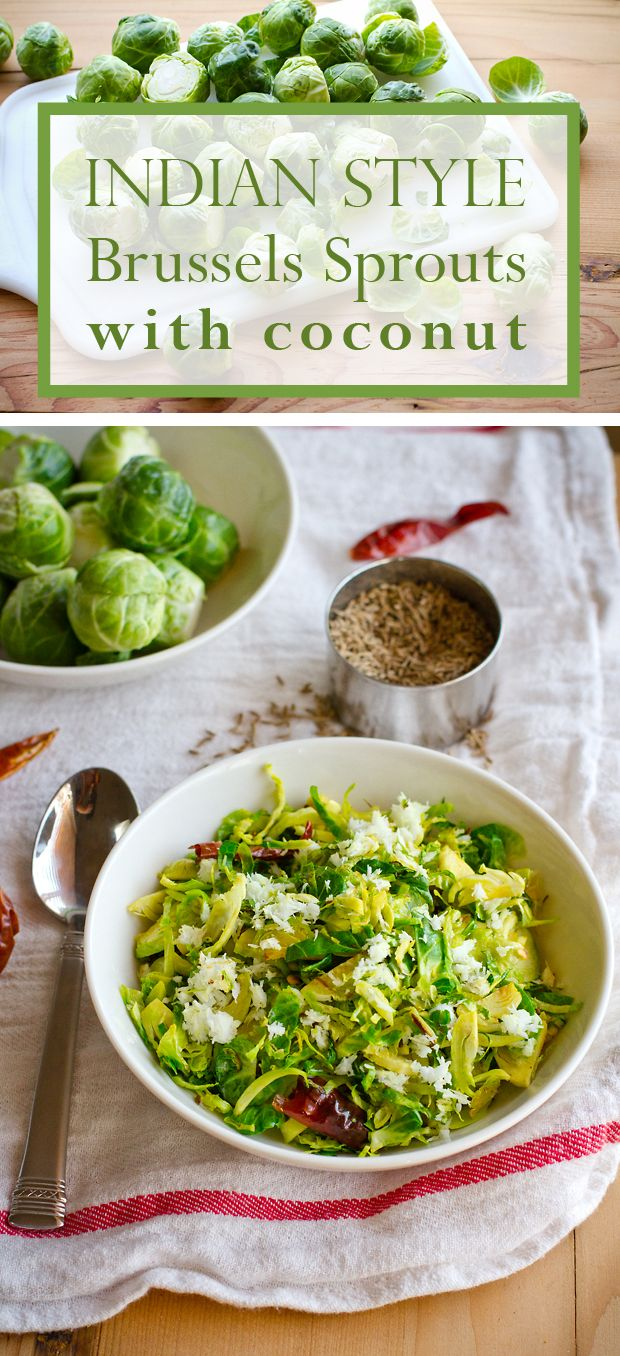 21 best brussel sprouts indian style recipes images on pinterest brussels sprouts are already one of our favorites this easy stir fry recipe is forumfinder Images