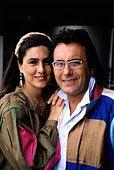 Power, Al Bano & Romina, 1970 - 1996, Italian pop duo, (Albano Carrisi and Romina Francesca Power), portrait, 1980s, - Stock Photo
