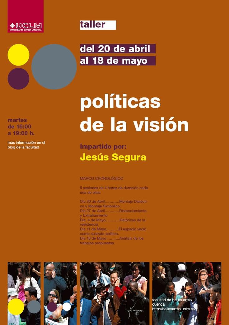 "Jesús Segura, ""Políticas de la imagen"". http://www.centroparraga.es/docs/Info_Jess_Segura.pdf"