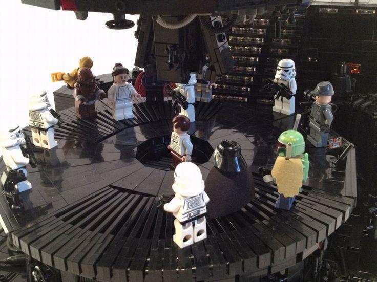 An Impressive Episode V Carbon Freeze Chamber LEGO Diorama - Gadget Review