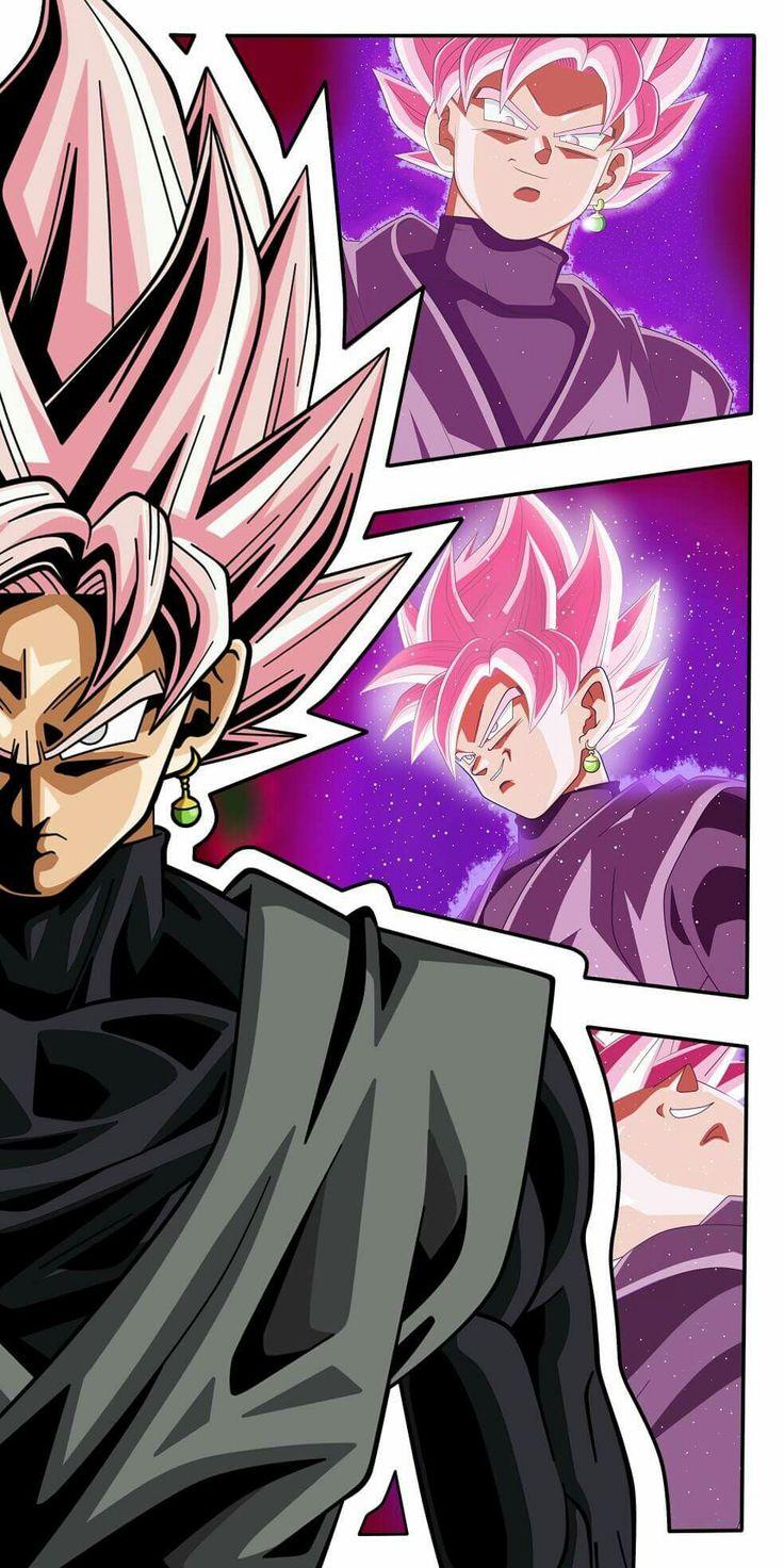 Súper Saiyajin Rose Goku Black (超サイヤ人 ロゼ 悟空 ブラック) - Dragón Ball Súper (ドラゴンボール 超)
