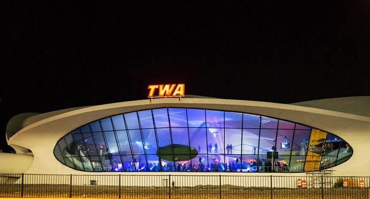Storefront for Art and Architecture released first images of 'Beyond Borders' at TWA Flight Center
