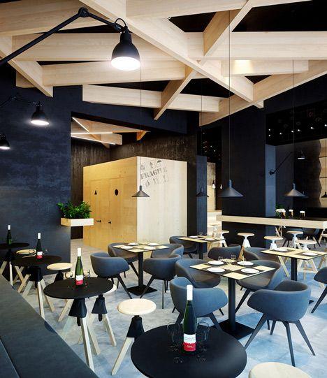 Representaciones hiperrealistas de un café propuesto en Ucrania - http://www.decoracion2014.com/ideas-de-decoracion/representaciones-hiperrealistas-de-un-cafe-propuesto-en-ucrania/