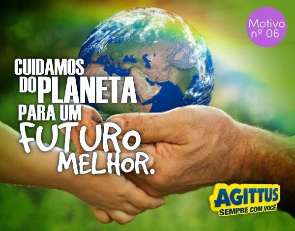 O Planeta Terra é a nossa casa. Da nossa casa, sabemos cuidar! Esse é mais um dos 20 motivos para estar com a Agittus Calçados. Cuidar do planeta é uma obrigação de todos!