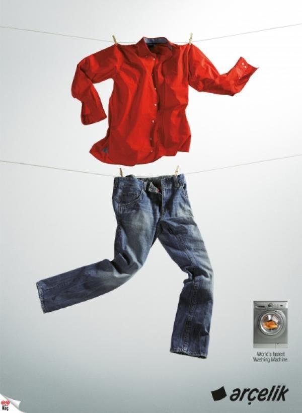 Самая креативная реклама стиральных машин