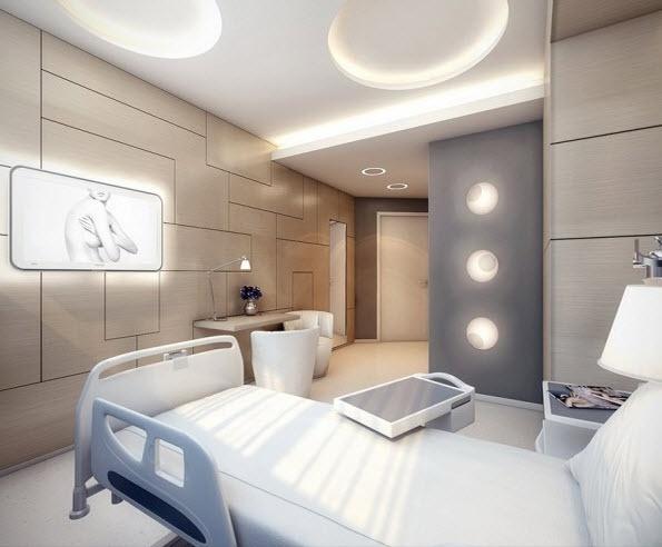 Ultra Modern Patient's Suite