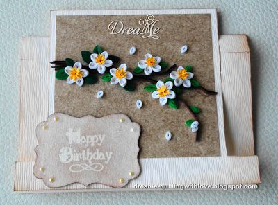 spring branch quilling