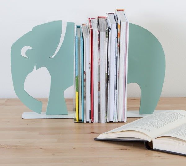Modern Animal Bookends