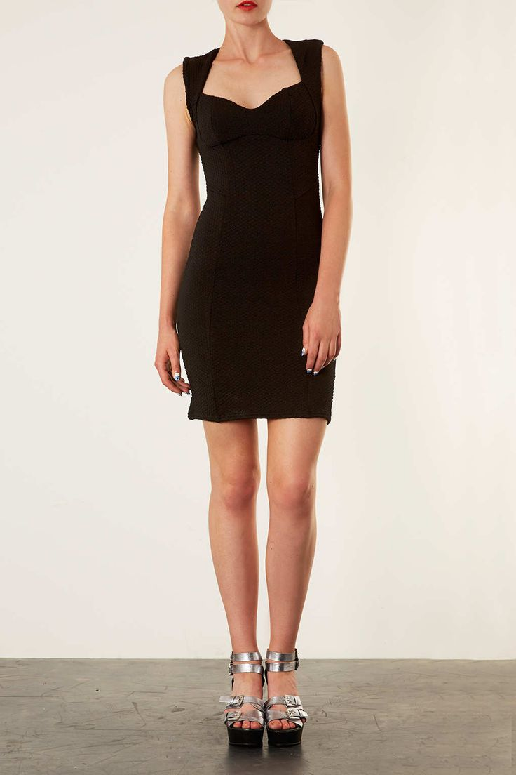 Sweetheart Bodycon Dress - Going Out Dresses - Dresses - Clothing - Topshop USA