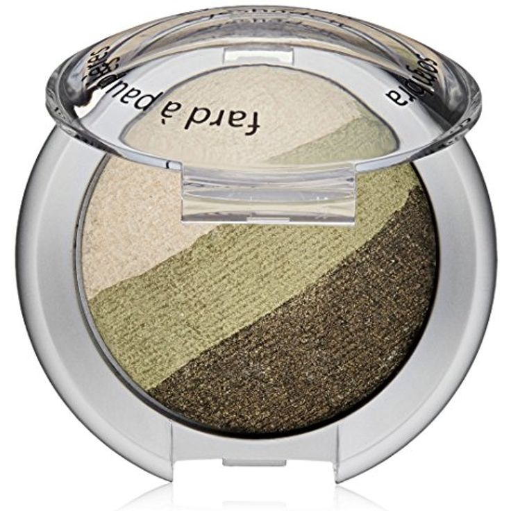 Palladio Baked Eyeshadow Trio, Green Forest * Details can be found by clicking on the image. (This is an affiliate link) #EyeMakeup
