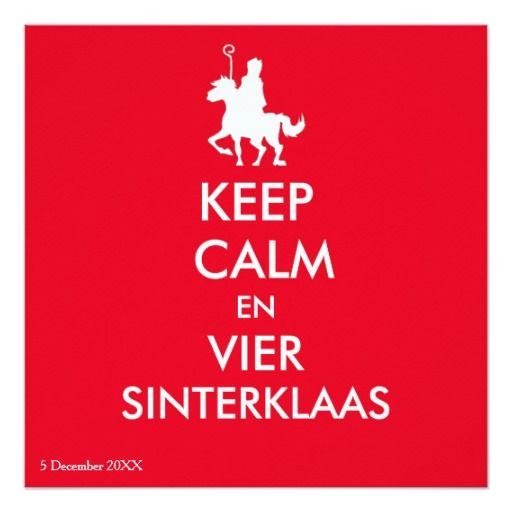 Keep Calm Sinterklaas