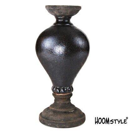 Kandelaar Tramonta zwart HOOMstyle