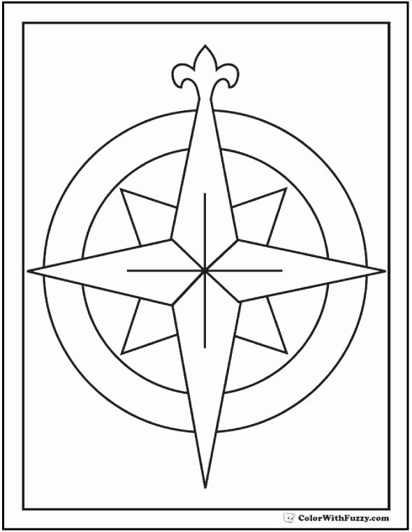 Compass Rose Coloring Page Elegant 73 Rose Coloring Pages Customize Pdf Printables Rose Coloring Pages Compass Rose Coloring Pages