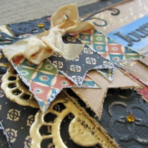 #couturecreationsaus   Kerrie Gurney Sneak Peek Double Page Travel Layout Class Scrapbook & Papercraft Expo June 7th - 9th 2014 BOOK NOW