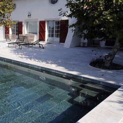 17 meilleures id es propos de carrelage piscine sur for Piscine mobile sur camion