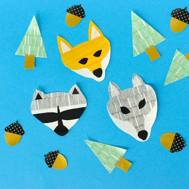 Omiyage Blogs: Woodland Washi Tape Animals