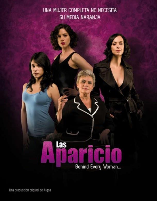 Las Aparicio: Paulina Gaitán. Damián Alcazar, Jorge Luis Moreno, Marina de Tavira