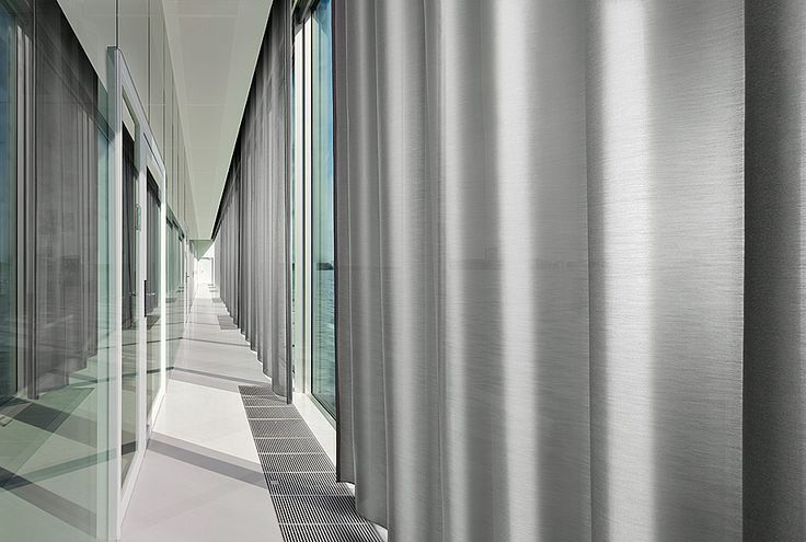 Vescom - curtain acoustics - design Marmara