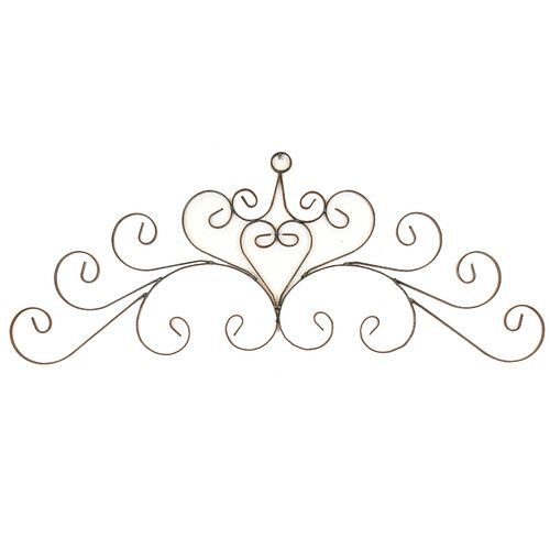 Found it at Wayfair - Santa Fe Iron Door Topper Wall Decor
