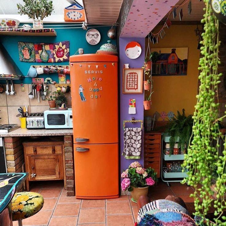 awesome kitchen décor ideas bohemian kitchen interior hippie home decor on kitchen decor hippie id=94435