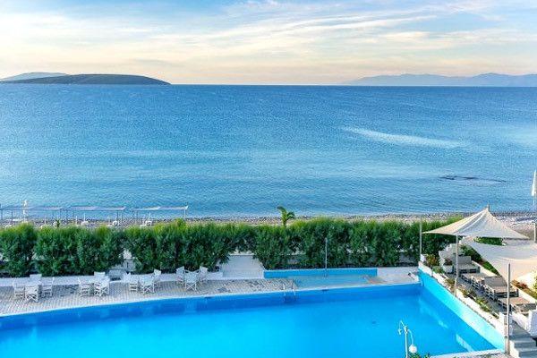 Hôtel The Grove Seaside 4*à Drepano prix Voyage pas cher Grèce Go Voyages à partir 539,00 €