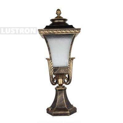 Идеи для сада. Наземный фонарь уличный SP-450P2. Использование наземных светильников и фонарей просто необходимо для создания качественного освещения на участке, которое обеспечивало бы безопасность пребывания на нем в темное время суток.