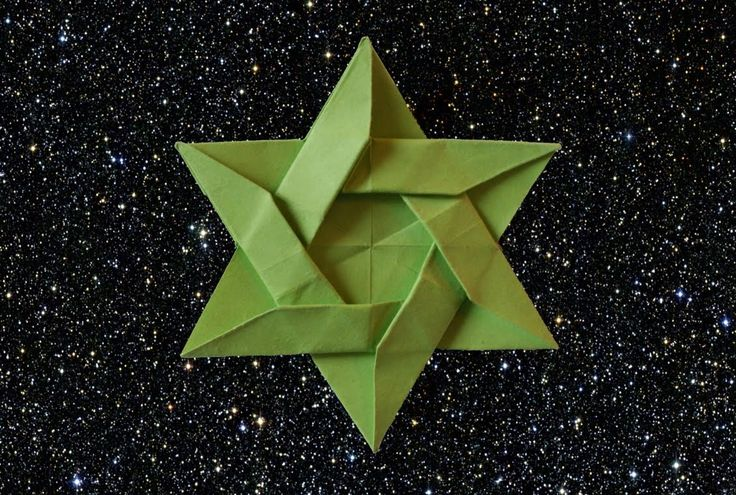 Best way to make an Origami Star of David (HD)