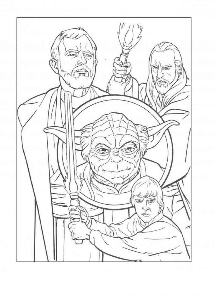 Anakin Skywalker (15) | Star wars malbuch, Ausmalbilder ...