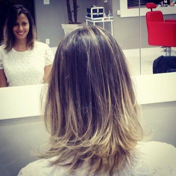 ombre hair em cabelos curtos e médios - Pesquisa Google