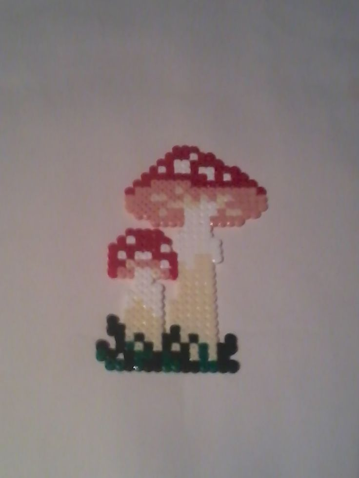 Mushrooms - Hama Beads