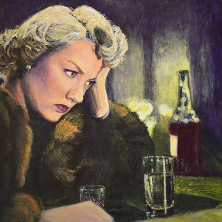 """Latest painting entitled """"Dejected""""! Buy via ebay Australia http://r.ebay.com/OG27vN OR ebay USA http://r.ebay.com/GFOXch See all my art and read my story on http://noirscapes.com"""