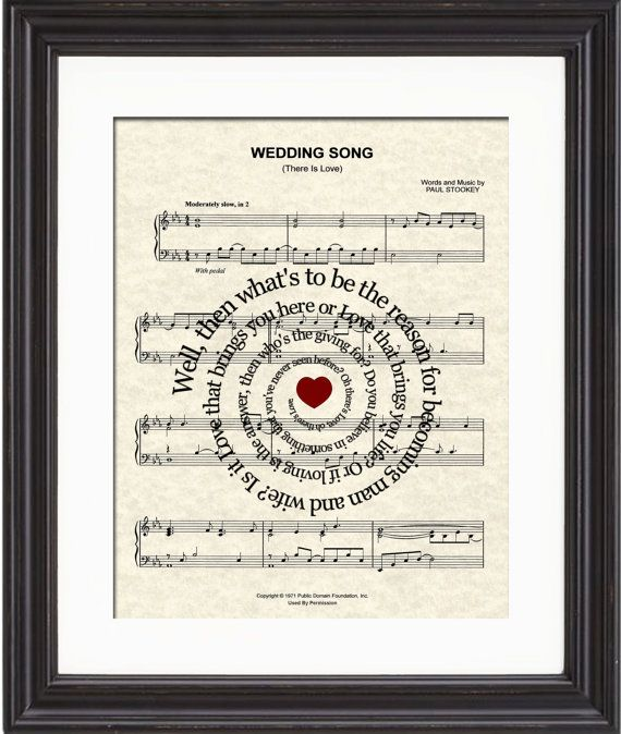 Wedding Song There Is Love Art Print By TexasGirlDesigns 1200