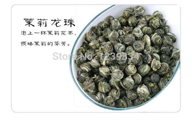 100 г жасмин жемчуг дракона чай, Шарики дракона жасмина, Жасмин зеленый чай, Бесплатная доставка купить на AliExpress