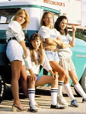 Dazed and Confused: Dazed And Confused, Fries, Best Movie, Halloween Costumes, Dazed And Confusion, Senior Girls, Favorite Movie, Faces Off, High Schools