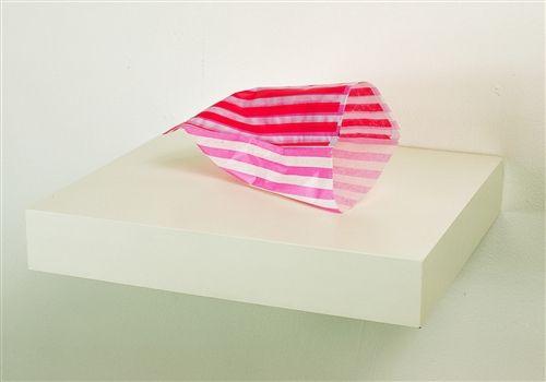 Jo McGonigal, Duet - [scan of pink bag printed on pink bag], 2012