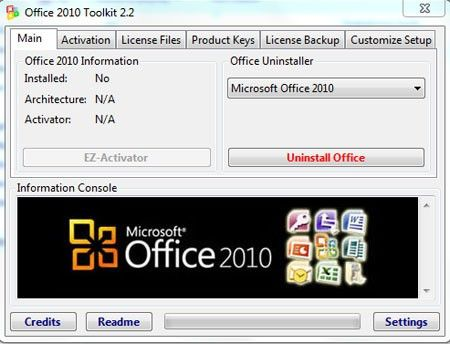 activateur microsoft office 2010 toolkit 2.2.3