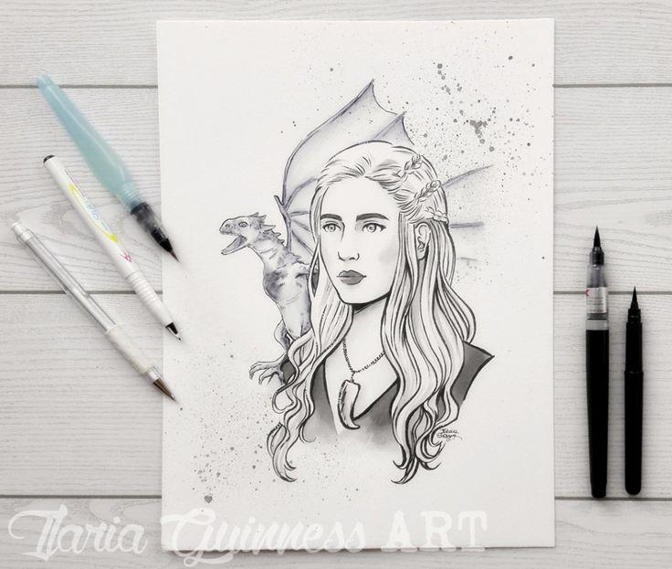 Per inchiostrare e colorare questa fan art di Daenerys Targaryen di Game of Thrones, realizzata per la pagina facebook di Pentel Italia, ho deciso di utilizzare solo prodotti Pentel (alcuni dei prodotti che ho acquistato negli ultimi due anni) ... (continua a leggere)