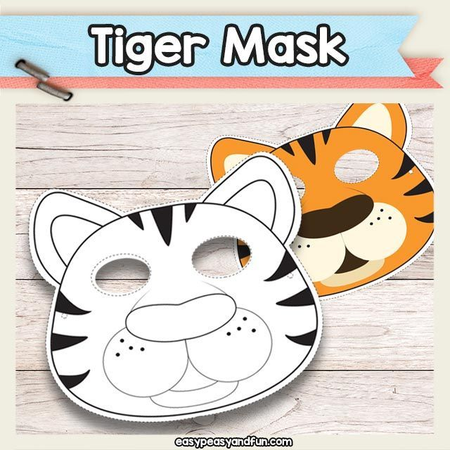 Stupendous Printable Tiger Mask Must Do Crafts And Activities For Home Interior And Landscaping Analalmasignezvosmurscom
