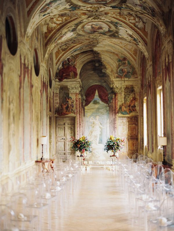 Italian wedding at Hotel Villa Grazioli. Fashionable Wedding in Italy - Real Weddings - Once Wed