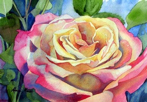 Marni maree floral paintings obra de arte pinterest for Pinterest obras de arte