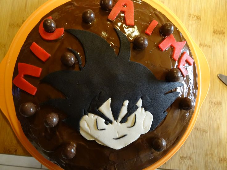 gateau dragon ball