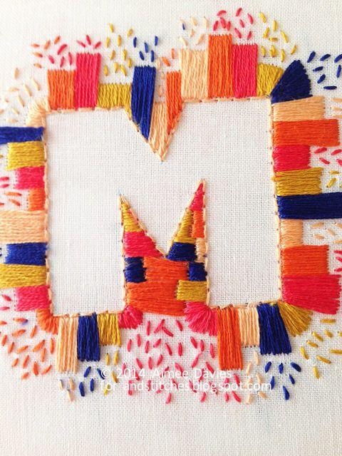 Summer Bloggin' - Stitching space with daisyeyes