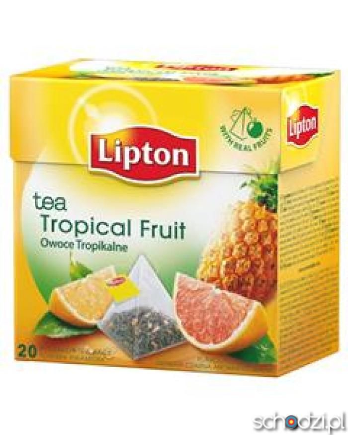 Lipton tropical fruit 20pyt - Schodzi.pl