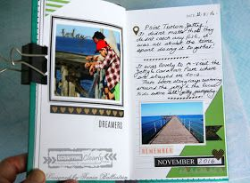 Scrappingclearly Scrapbooking and Papercrafts: More Travel themed pages with Tania