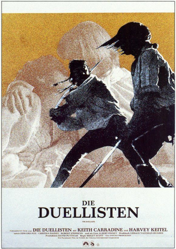 The Duellists (German) 11x17 Movie Poster (1977)