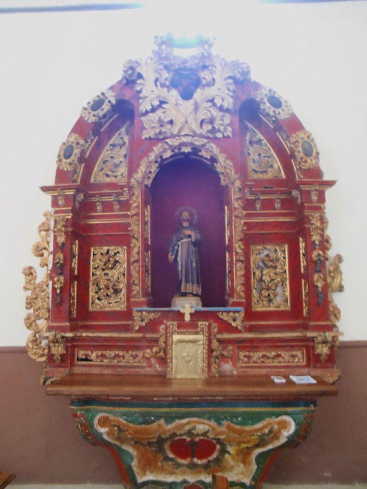 Convento de Santa Isabel e Iglesia de San Martín. Retablo lado epístola