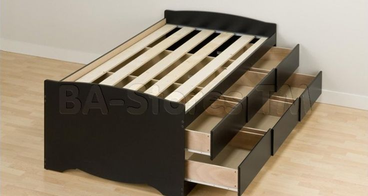 Top 10 Twin Bed Frame With Drawers Underneath Ideas