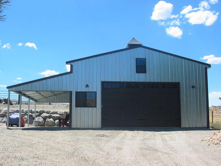 Summit Steel Building Kit by VersaTube Garages/Barns